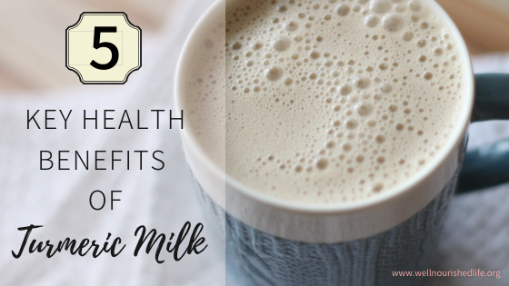 5 Key Health Benefits of Turmeric Milk